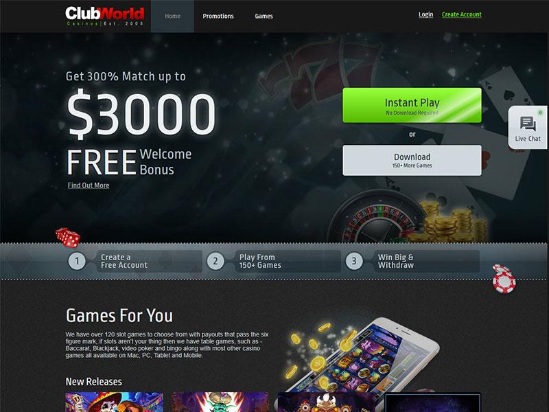 Club world casino withdrawal casino cruise lynn ma 2013
