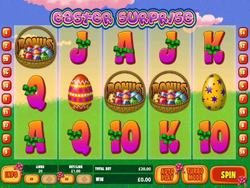 Easter Surprise Free Slots