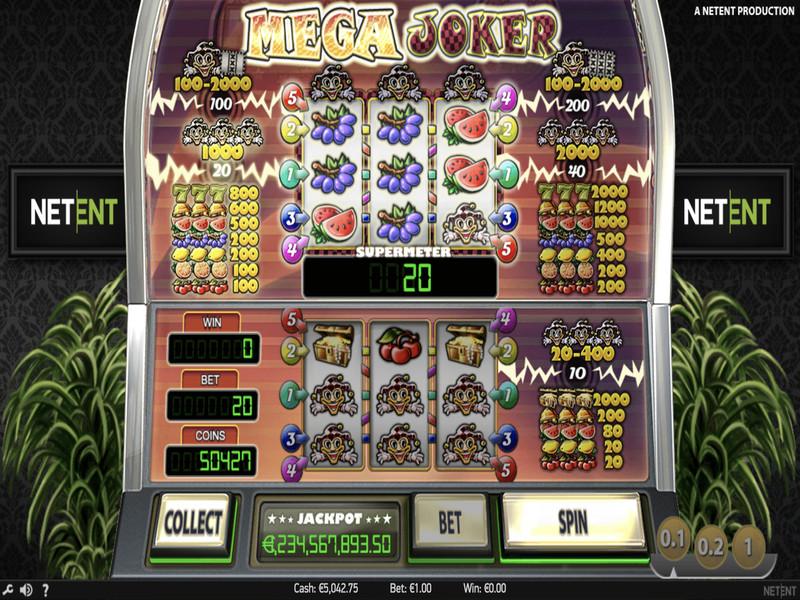 Mega Joker Free Slots
