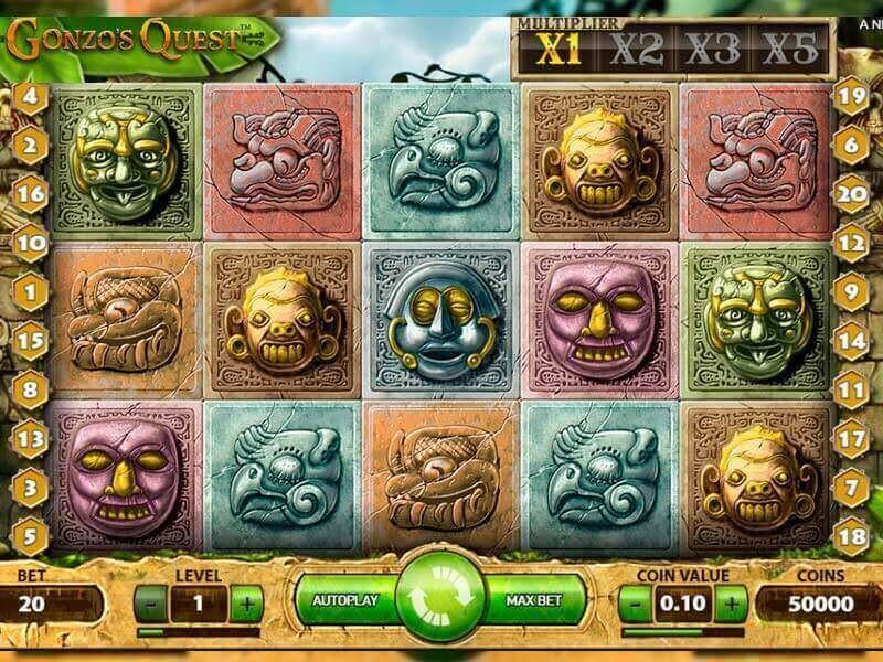 Gonzos Quest Free Slots