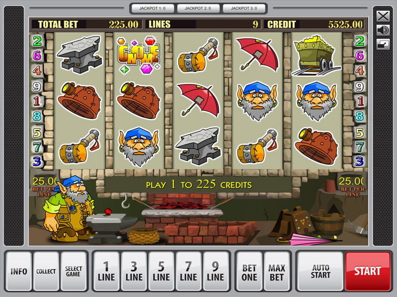 Gnome Free Slots
