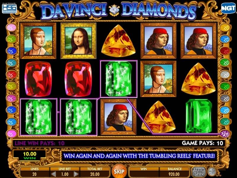 Davinci Diamonds Free Slots