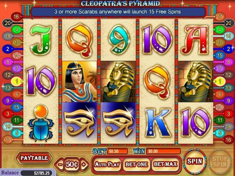Cleopatra Pyramid Free Slots