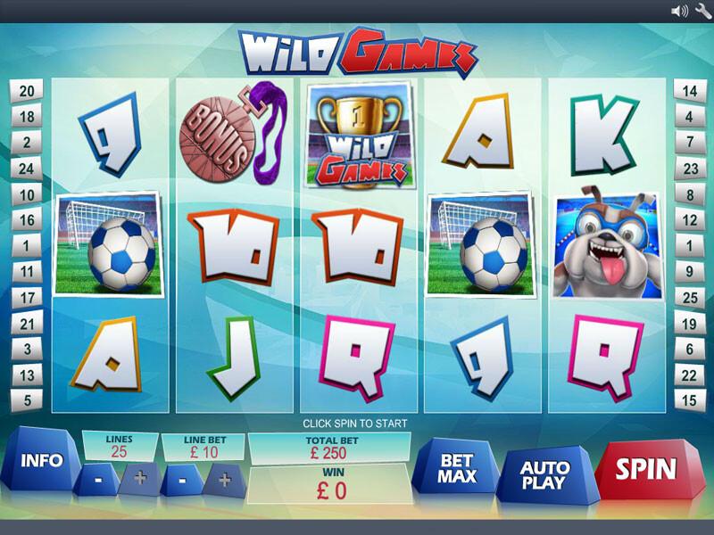 Wild Games Free Slots