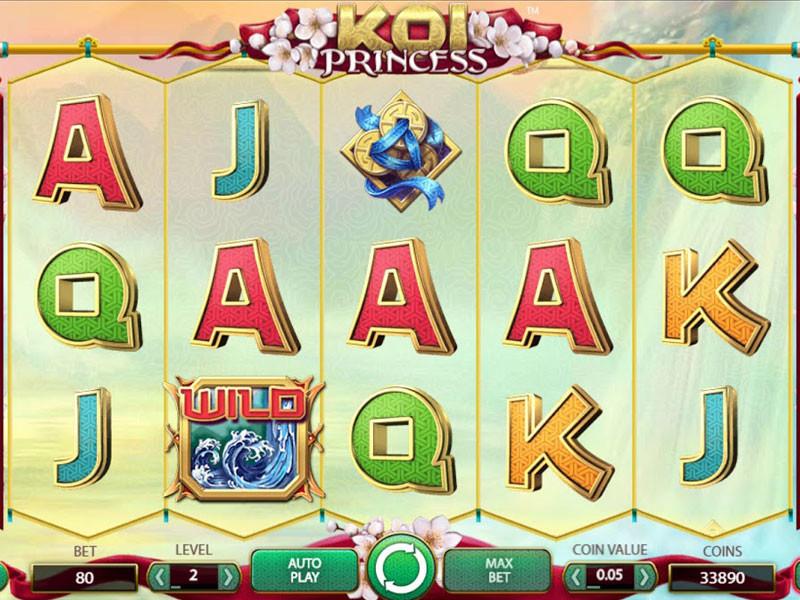 Koi Princess Free Slots