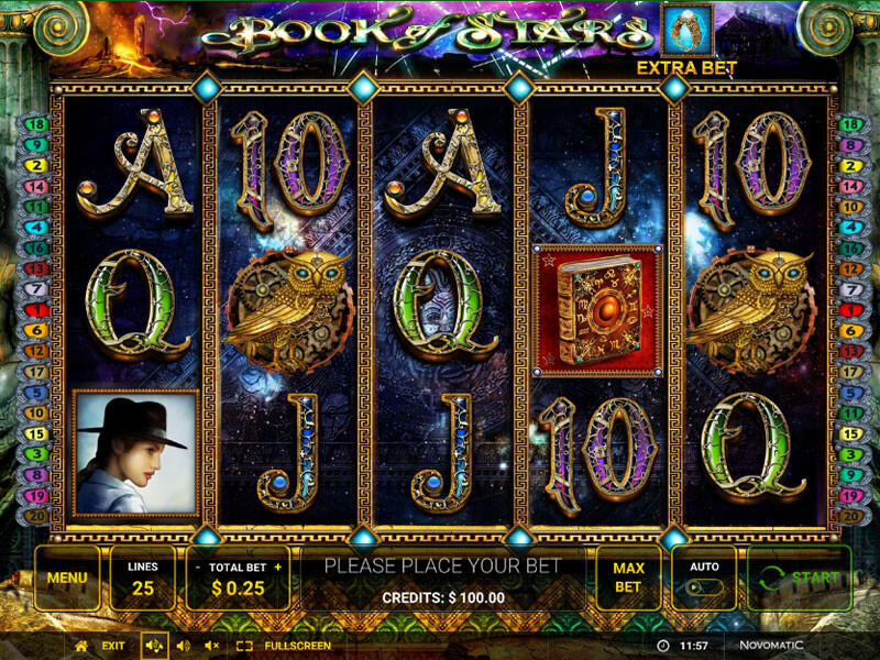 Book of Stars Free Slots
