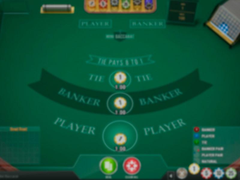 Mini Baccarat Free Slots