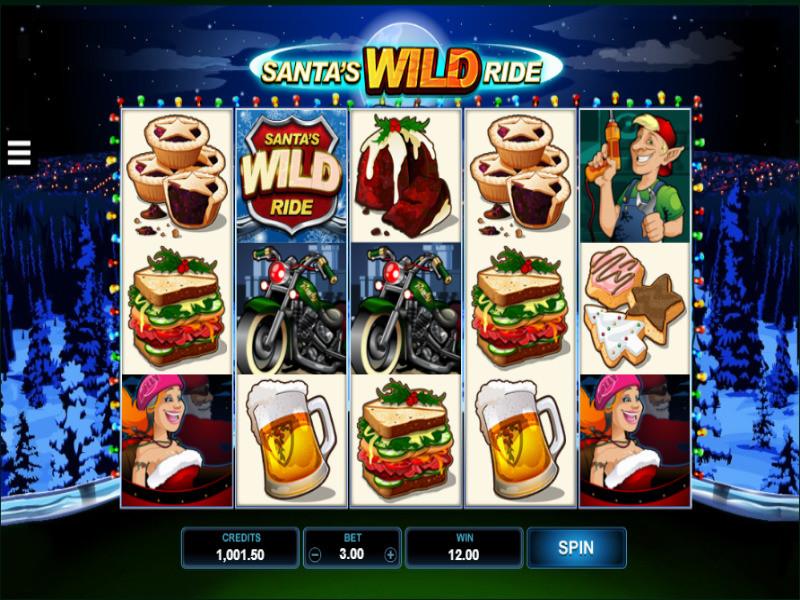 Santas Wild Ride Free Slots