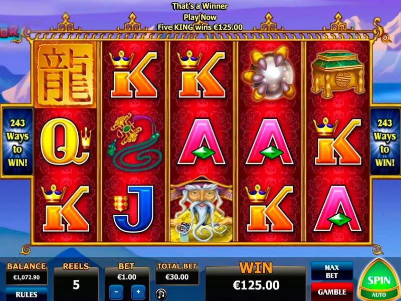 Dragon Emperor Free Slots