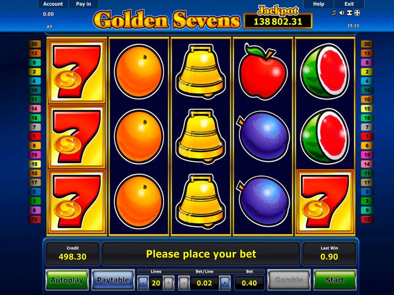 Golden Sevens Free Slots